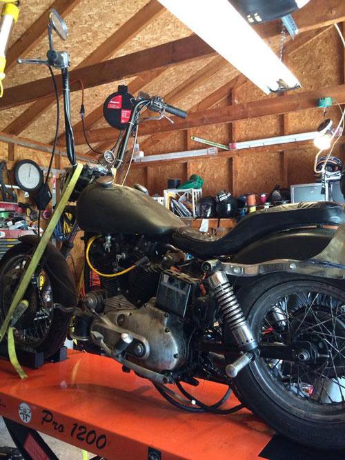 1974 XLCH Harley Ironhead
