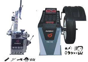 Phoenix PWB1530 Wheel Balancer and 2950A Tire Changer