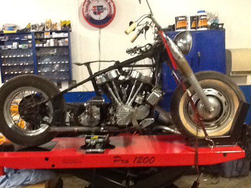 Harley Davidson '49 Pan Head  (Hydraglide) Restoration Project
