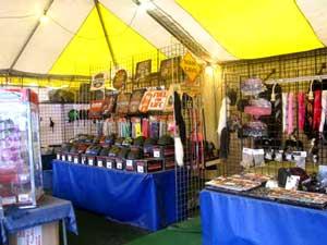 Laconia Motorcycle Week Jewelry vendor