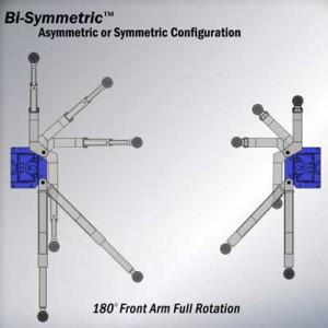 Bisymmetric 2 Post Lift