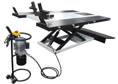 PRO-2500E HIGH RISE ELECTRIC/HYDRAULIC UTV ATV LIFT TABLE