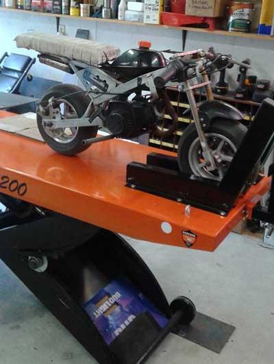 2 stroke mini motor bike PRO 1200