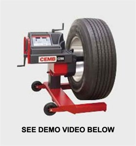 Picture of CEMB C206 MOBILE TRUCK WHEEL BALANCER
