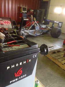 Phoenix Wheel Balancer shown at Ballistic Motor Sports
