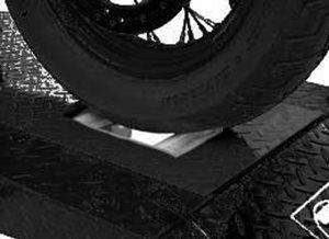 Titan HDML-1500XLT-RDO-XX Roller Plate Dropout - Black