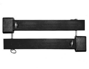 Titan WC-1500X-AX Wheel Chock Arm Extension Kit (Black)
