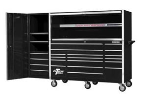 Picture of EXTREME EX7217HRCL TOOLBOX COMBO SET HUTCH , ROLL CAB AND LOCKER - COMBO TOOL BOXES