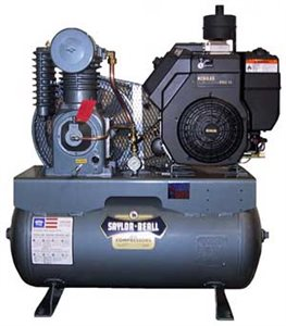 Picture of SAYLOR-BEALL UL-753 13 HP 30 GALLON GASOLINE ENGINE DRIVEN AIR COMPRESSOR