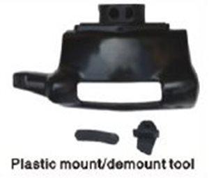 Plastic mount / demount tool for tire changer