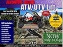 Picture of ELEVATOR 1800U ATV UTV LIFT TABLE, INCLUDES SIDE EXTENSION KIT