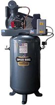 Picture of SAYLOR-BEALL VT-735-80 TANK MOUNTED VERTICAL AIR COMPRESSOR