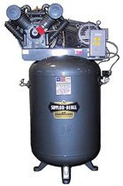 Picture of SAYLOR-BEALL VT-745-120 TANK MOUNTED VERTICAL AIR COMPRESSOR