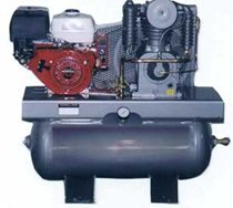 Picture of SAYLOR-BEALL UL-743-HONDA 11 HP 30 GALLON GASOLINE ENGINE DRIVEN AIR COMPRESSOR
