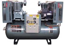 Picture of SAYLOR-BEALL X-730-80 3 HP 80 GALLON DUPLEX AIR COMPRESSOR