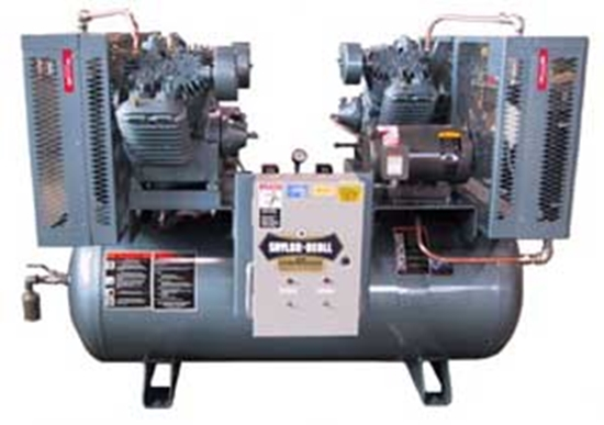Picture of Duplex Air Compressor Saylor-Beall X-755-120
