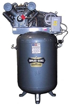 Saylor-Beall VT-745-120 3 Phase Tank Mounted Vertical Air Compressor