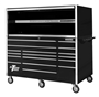 "Picture of Extreme 72"" Hutch Rolling Tool Cabinet Set EX721701HC"