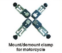 Picture of Phoenix Motorcycle Mount Demount Clamp for Tire Changers PHTC3
