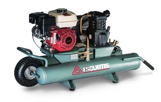 Picture of FS CURTIS 5.5HP 9 GALLON GAS DRIVE WHEELBARROW PORTABLE AIR COMPRESSOR - CTS SERIES