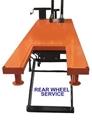 Rear Drop Through - motorcycle lift table