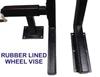 Rubber Lined Wheel Vise - PRO 1200 Lift