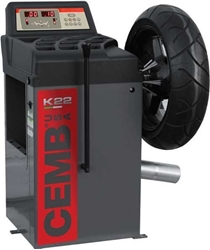 Picture of Computerized Motorcycle Wheel Balancer CEMB K22