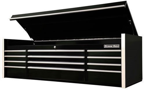 "Picture of EXTREME TOOLS RX722512CH 72"" 12 DRAWER TOP CHEST"