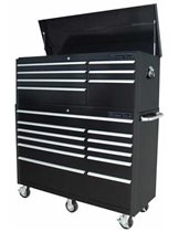 "Picture of EXTREME TOOLS RXE5618COMBO 56"" 7 DRAWER TOP CHEST AND 11 DRAWER ROLLER CABINET COMBO"