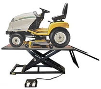 Picture of Mower Lift Table w/Side Extension Kit Elevator 1100M