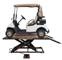 Picture of Golf Cart Lift Table w/Side Extension Kit Elevator 1100G