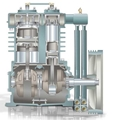 Inside ML Series Air Compressors