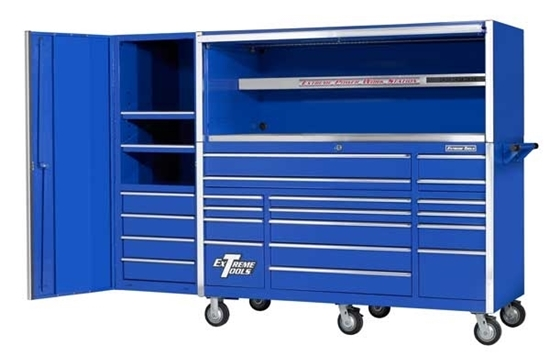Picture of Extreme Tool Box Set - Hutch, Roller Cabinet + Locker EX7217HRCL