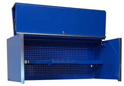 "blue 55"" tool hutch"