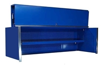 Blue Top Hutch 72""