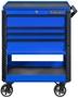 blue tool cart