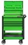green tool cart