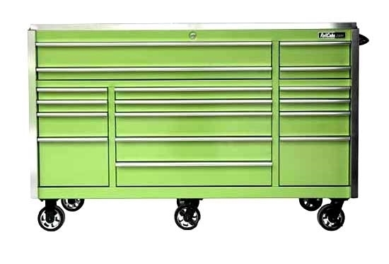 "Green Quick Latch 72"" Roll Tool Box"