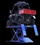 ATV on lift table