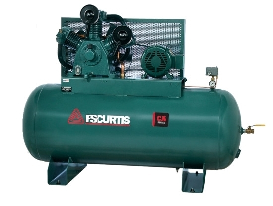 Picture of CA15 Simplex Horizontal Tank Mounted Electric Air Compressor 15 HP FS Curtis