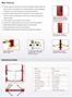 BP-9X 2 post lift sell sheet