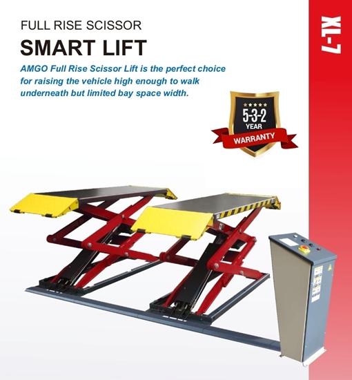 Low Profile Scissor Lift 7000lbs