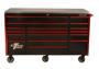 black with red trim tool box EX7217RCQ