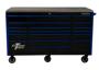 EX7217RCQ Quick Latches Black with Blue Tool Box 72