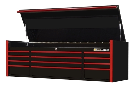 "GearWrench Black - Red 72"" Top Tool Chest"