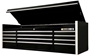 "GearWrench Black with Chrome 72"" Top Tool Chest"