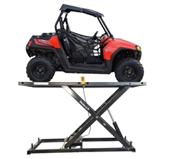 Picture of Motorcycle ATV UTV Electric Lift Table Elevator 2000E Repair Shop Grade