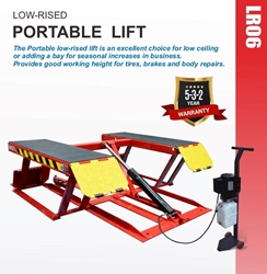 Picture of Low Rise Portable Lift LR06 Amgo Hydraulics