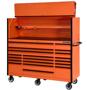 orange combo tool storage set